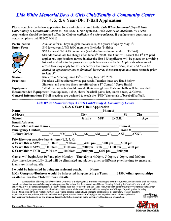 2020 T-Ball Applications with MTM.tif