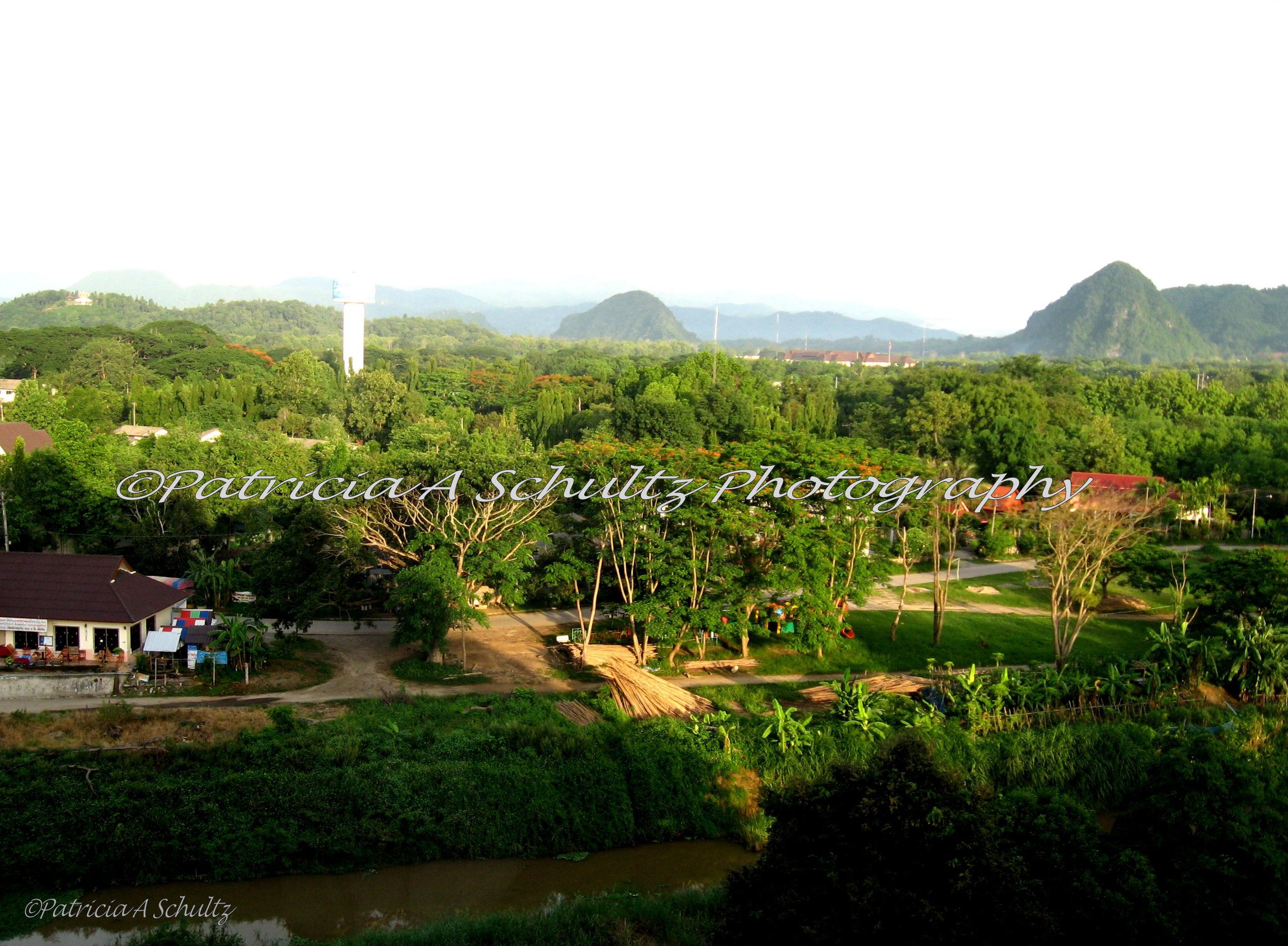 Morning Light Over Chiang Rai