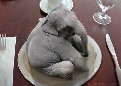 Weekly Stab--I Like my Elephants Well Done.