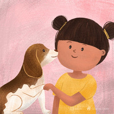 Have you petted your dog today?