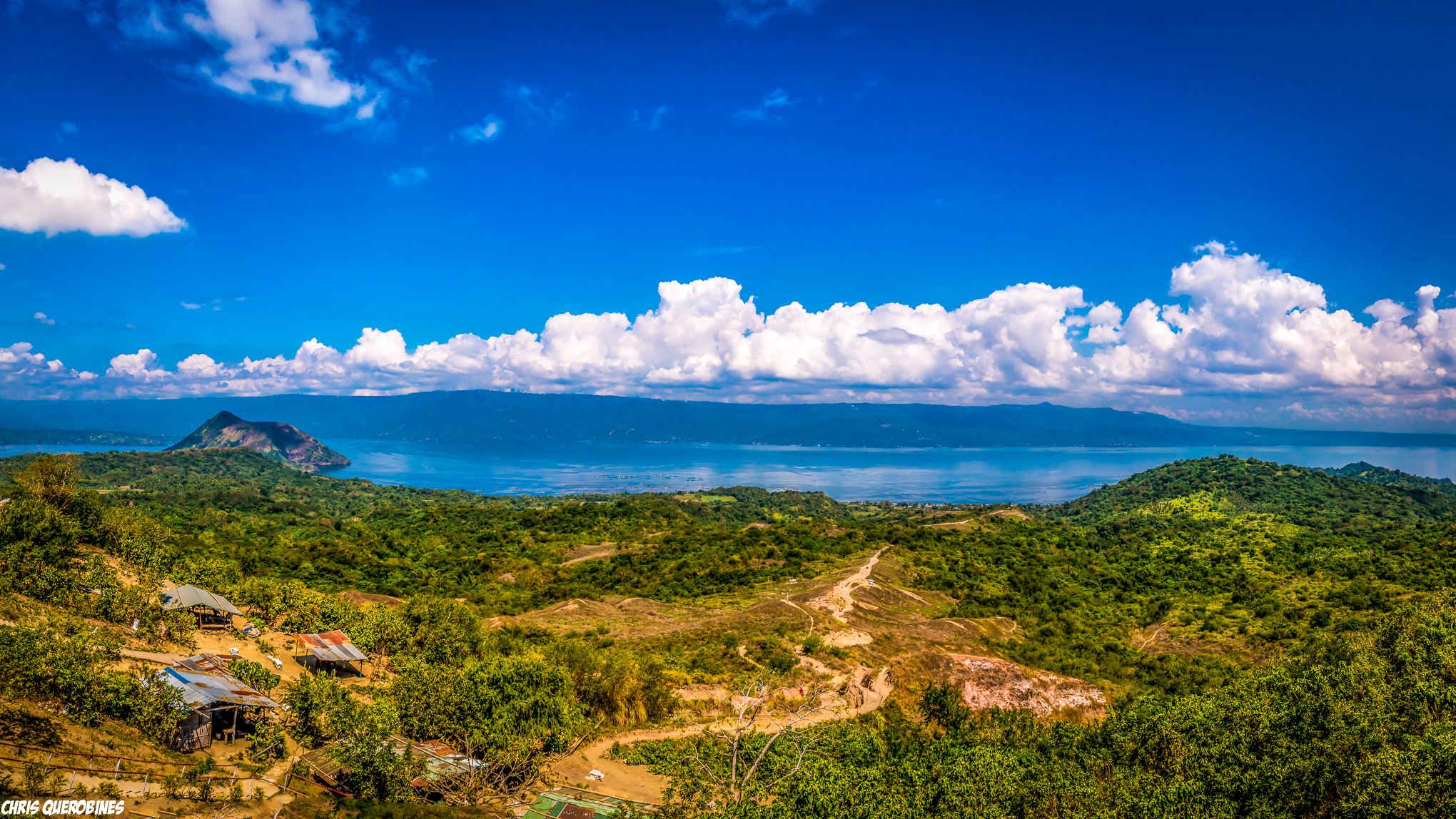 Trail to Taal Crater