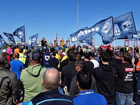 UPDATE - Patrick Terminals - Fremantle -Additional - MUA Protected Industrial Action