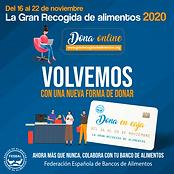 Banner movil - Gran Recogida de Alimentos 2020