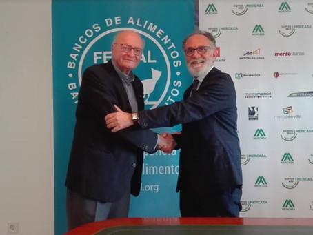 MERCASA Y FESBAL FIRMAN UN CONVENIO PARA REFORZAR SU COLABORACIÓN