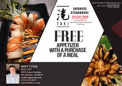 Taki Japanese Steakhouse - May 2018