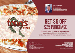 Fong's Pizza - July 2020