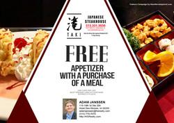 Taki Japanese Steakhouse - June 2019