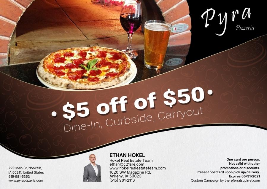 Pyra Pizzeria - November 2020