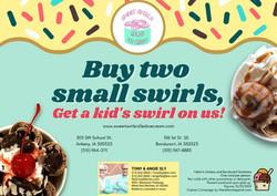 Sweet Swirls Rolled Ice Cream - October 2021