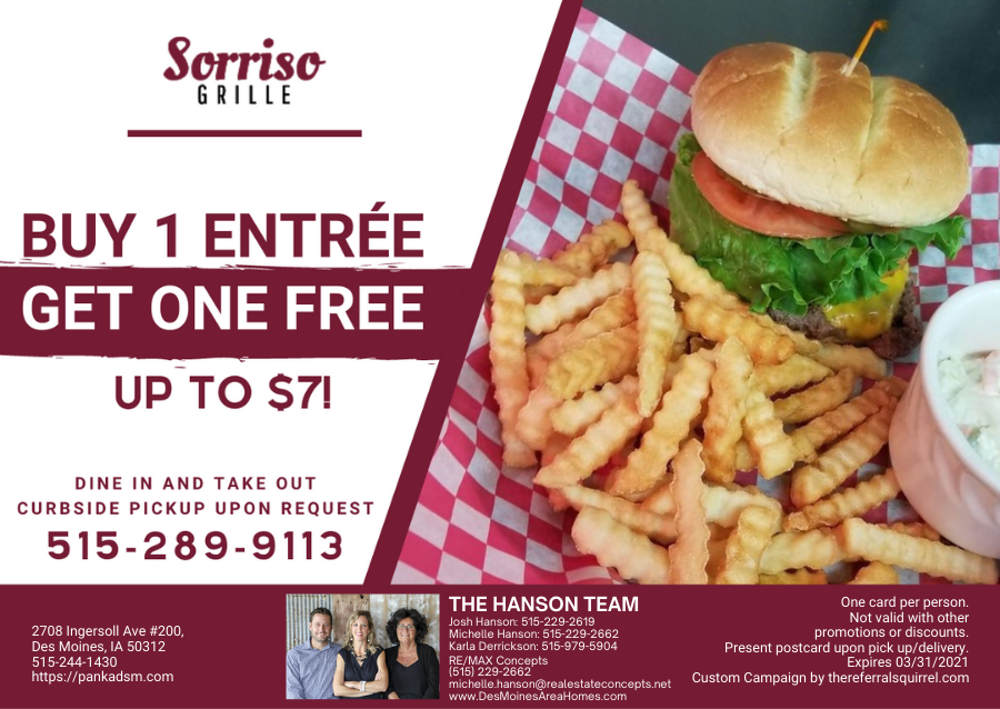 Sorriso Grille - March 2021