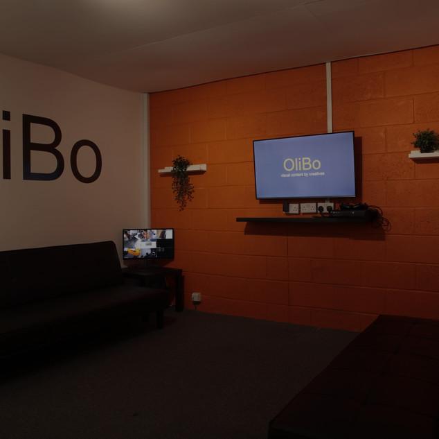 green room at OliBo