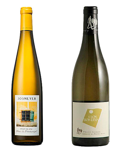Pinot Blanc et Saumur Blanc