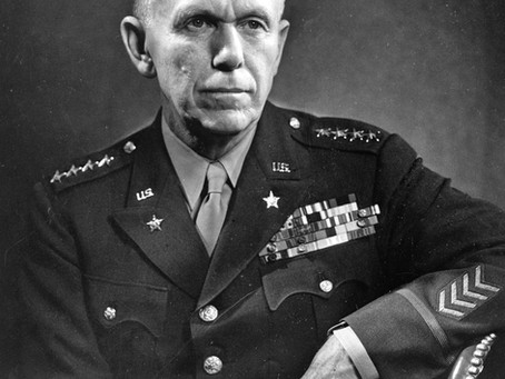 Who's George Marshall and What was his Plan?