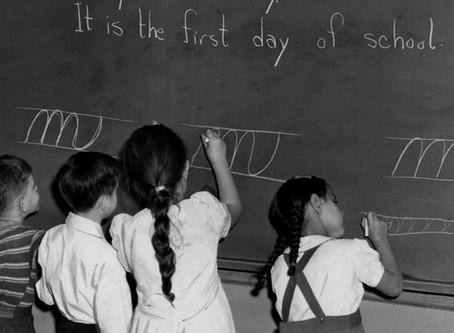 School Uncertainties in 1944 and 2020