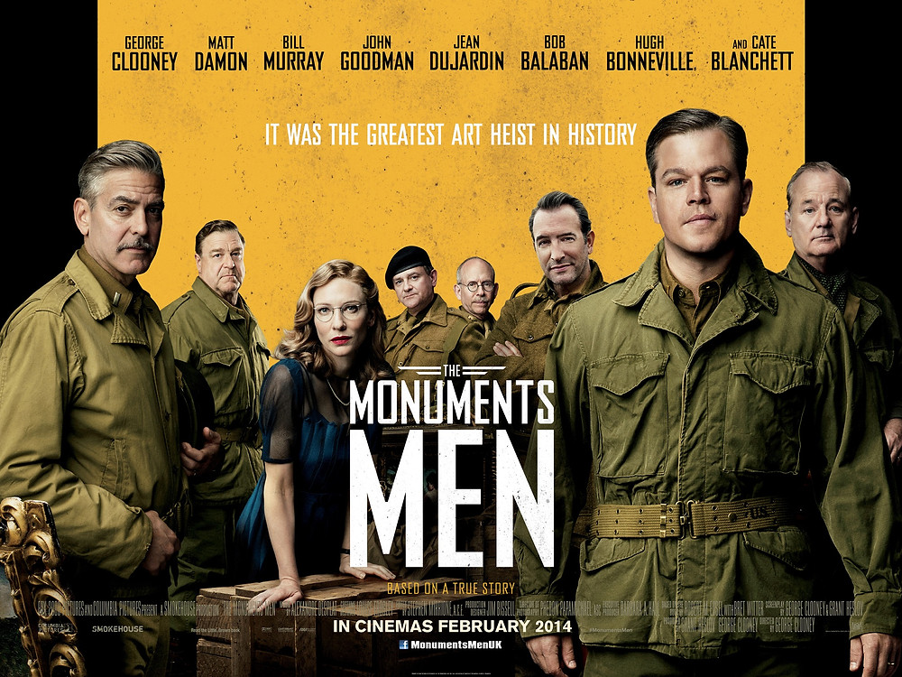 George Clooney, Matt Damon, Bill Murray, John Goodman, and Cate Blanchett