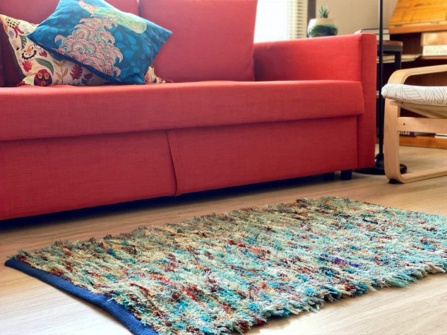 """""""A new dimension of art brings warmth and color to my living room floor!"""" -Marla P."""