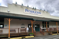 The Pendleton Mills factory and store in Washougal, Washington.