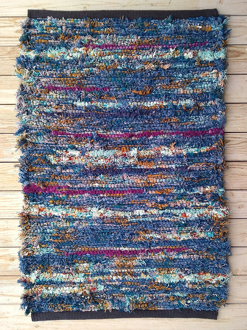 "Handwoven Rug 24"" wide"