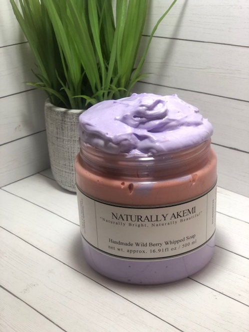 Whipped Soap-Wild Berry- 16.9 oz
