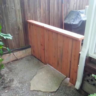 BBQ gate closed