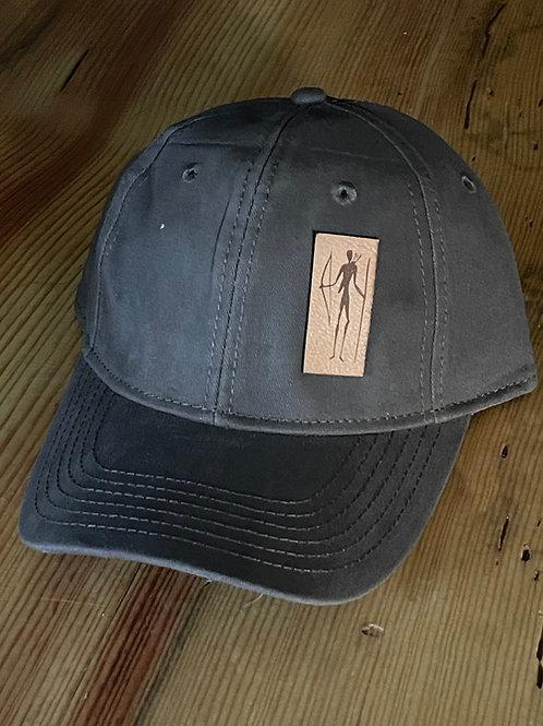 Bushman Leather Patch Hat (vertical)