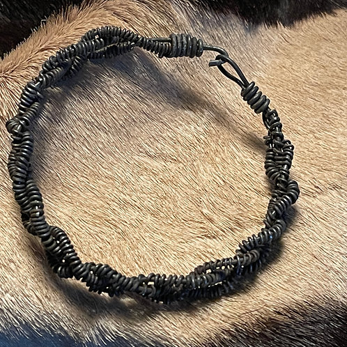 African Snare Bracelet - Braided Cord