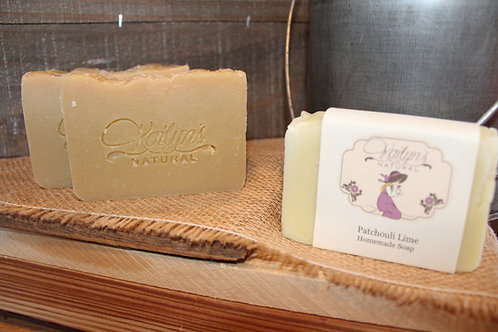 Patchouli Lime Goat Milk Soap