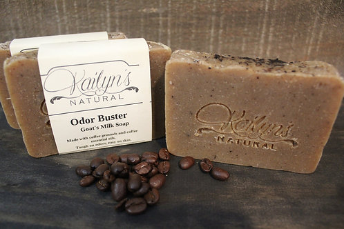 Odor Buster Goat Milk Soap