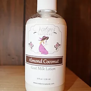 Almond Coconut Goat Milk Lotion