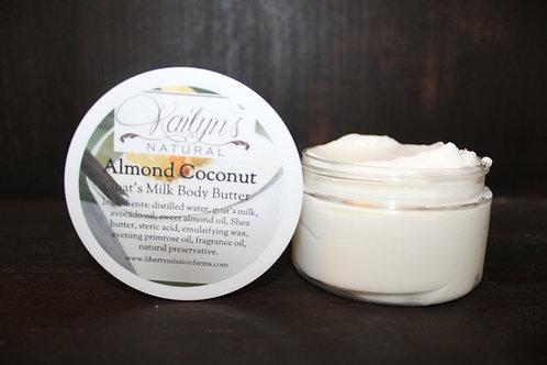 Almond Coconut Goat Milk Body Butter