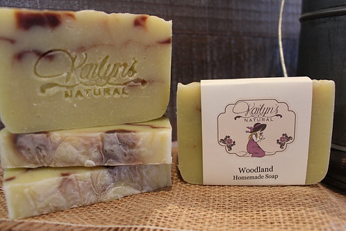 Woodland Goat Milk Soap