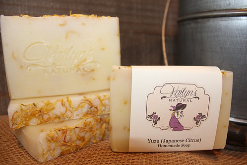 Yuzu (Japanese Citrus) Goat Milk Soap