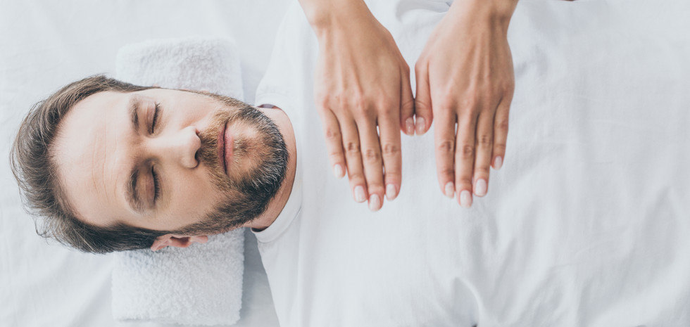 top-view-of-bearded-man-with-closed-eyes