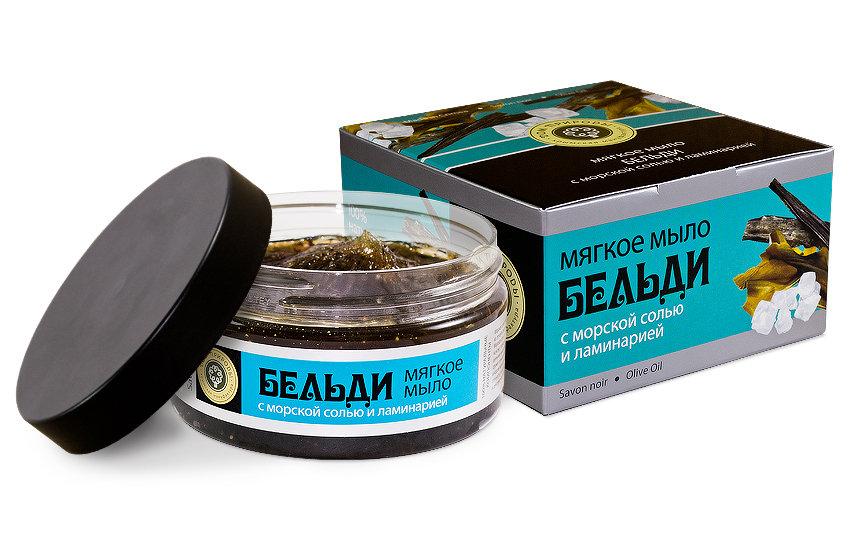 Бельди с морской солью и ламинарией