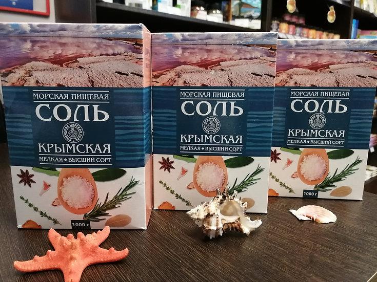 Крымская пищевая соль, 1000 г.