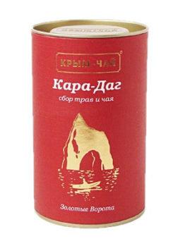 Черный чай с травами «Кара-Даг», 75 г.