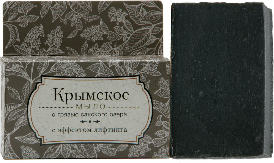 Крымское натуральное мыло с эффектом лифтинга