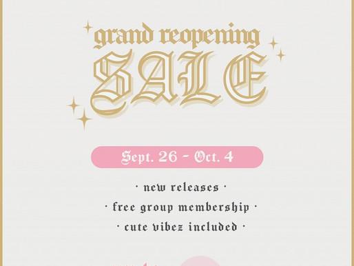 Rotten & Pushin' Daisies Grand Reopening Sale