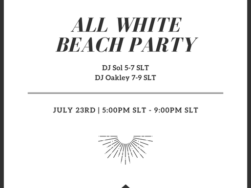 All White Beach Party @ The Bay