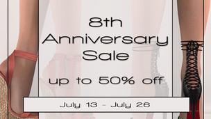 Essenz 8th Anniversary Sale