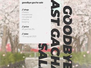 Goodbye Gacha Sale