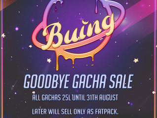 Buing Gacha Sale