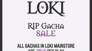Loki Gacha Sale
