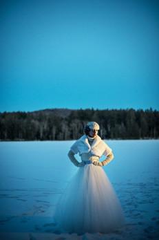 Blue Overskirt by Lacey Eden Styling by Beth Chapman Image by Carla Ten Eyck
