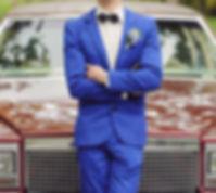 Sposo in Blue