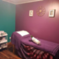 Delighted with our new look wax rooms...