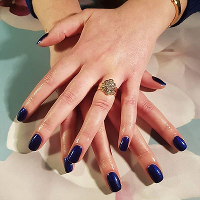 I love seeing clients picking blue colou