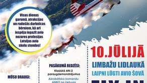 FLY in LIMBAŽI, 10.07.2021.