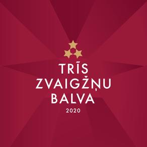"""Sācies """"Trīs Zvaigžņu balva 2020"""" tautas balsojums"""