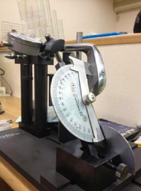 重心アングル測定器